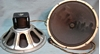 """Afbeeldingen van Wurlitzer (Magnavox) 15"""" Field Coil speakers"""