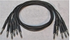 "Picture of ADC 3', 1/4"" Nickel, Black TRS Longframe Patch Cable"