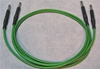 "Picture of ADC 3', 1/4"" Nickel, Green TRS Longframe Patch Cable"