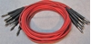 "Picture of ADC 4', 1/4"" Nickel, Red TRS Longframe Patch Cable"
