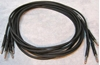 Picture of ADC 6', Black TT (Bantam) Nickel Patch Cable