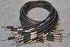 Image de Neutrik 1.5', Black TT (Bantam) Nickel Patch Cable