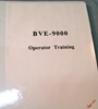 Picture of Sony BVE-9000 Operator Training Manual