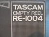 "Image de Tascam 10""x.25"" Reel,RE-1004, Boxed USED"