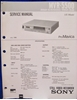 Picture of Sony MVR-5500 Service Manual