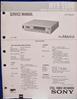 Image de Sony MVR-5500 Service Manual