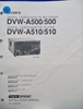 Image de Sony DVW-A500/500 DVW-A510/510 Installation Manual 1st Edition