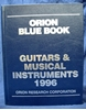 Picture of Orion Blue Book: 1996 Guitars & Musical Instruments