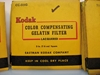 "Picture of Kodak Wratten Gelatin filters, 3""x3"""