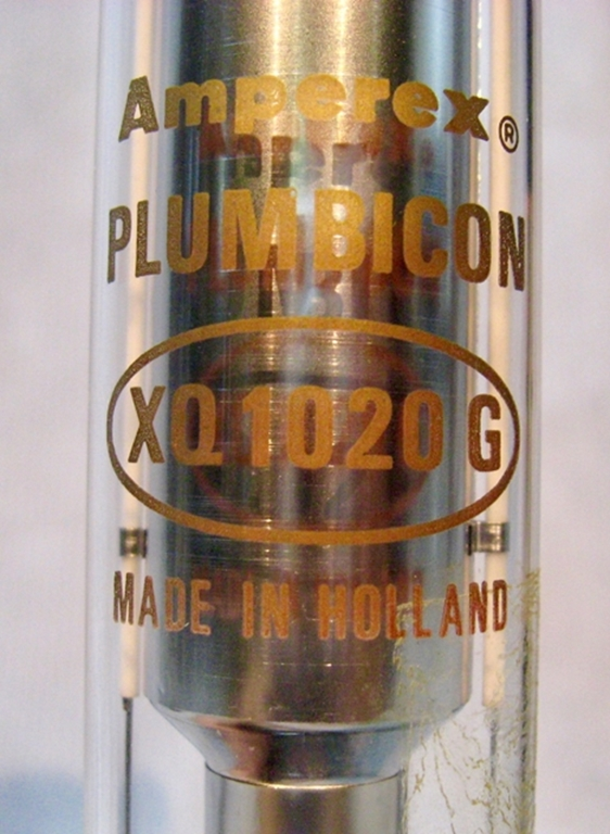 Picture of Amperex (Holland) Plumbicon, pn XQ1020G (Green)